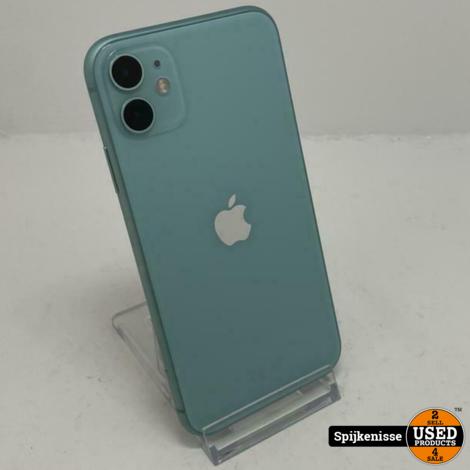 Apple iPhone 11 64GB Green met doos *805032*