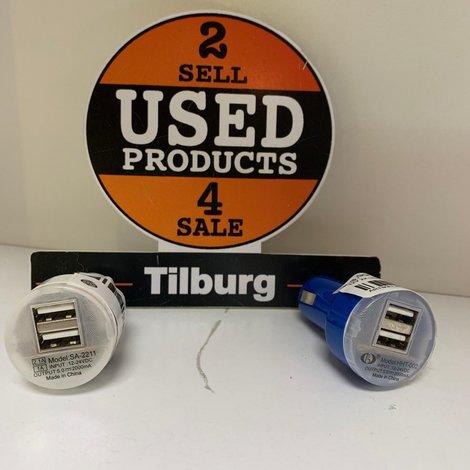 12V 2X USB autostekker ||met garantie||