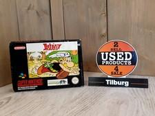 Nintendo Asterix Snes met doos en boekje