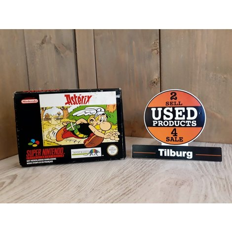 Asterix Snes met doos en boekje