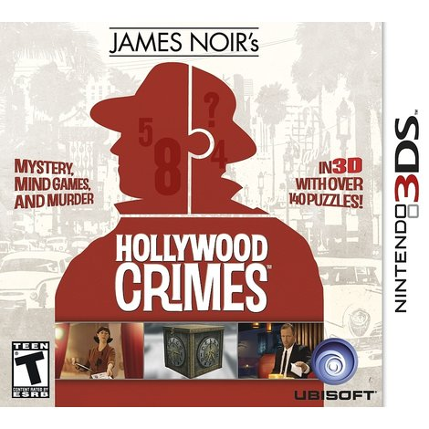 James Noir's Hollywood Crimes 3D 3DS ||zgan