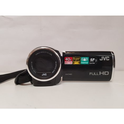 JVC Everio Camera Zwart ||In nette staat||