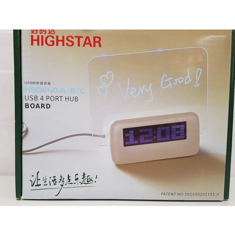 highstar hsd1140 klok