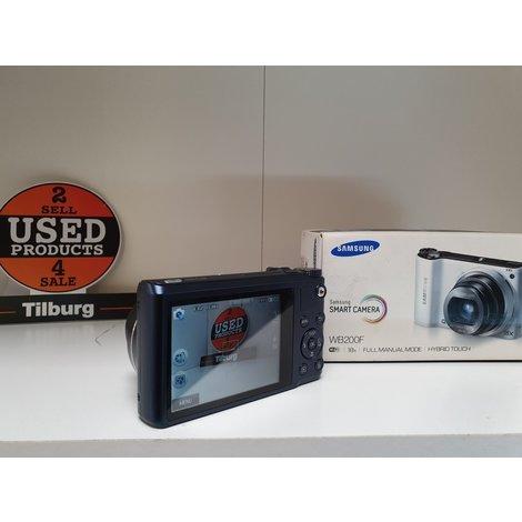 Samsung WB200F W-Fi Smart Camera met Doos Incl. garantie