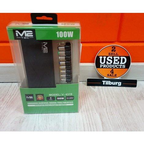 M2-Tec 100W. Universele Adapter Nieuw in Doos   Incl Garantie