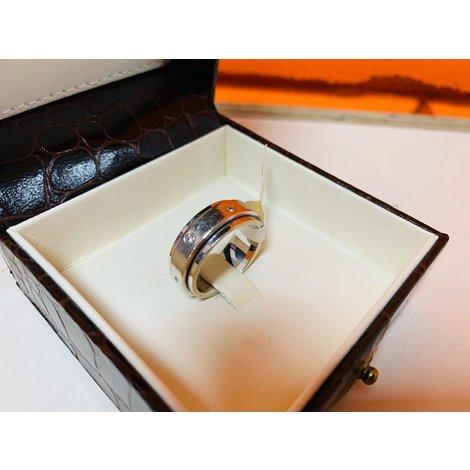 Witgouden Ring 18KRT 8.78GRAM