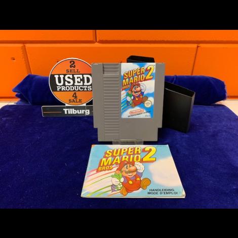 NES Super Mario Bros 2 in Doosje || Incl. garantie