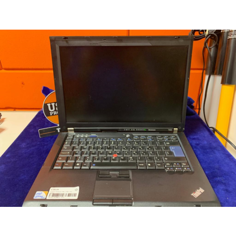 Lenovo Thinkpad T400 + lader. voor hobby