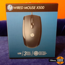 HP Wired Mouse X500 in doos    inclusief garantie