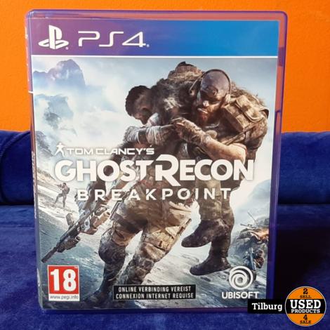 Playstation 4 Ghost Recon Breakpoint || inclusief garantie