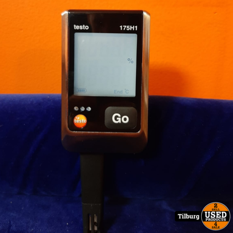Testo 175H1 Temperatuurmeter zonder lader || inclusief garantie