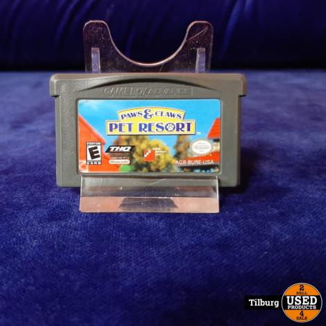 Gameboy Advance Paws en Claws Pet Resort || Incl. garantie