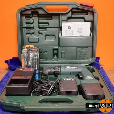 Metabo AB E 12/2 RT met extra bits in koffer || inclusief garantie