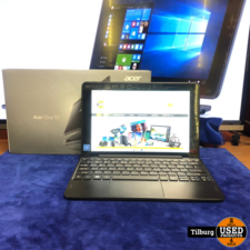 Acer One 10 S1003-14XJ Laptop compleet in doos met factuur