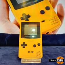 GameBoy Color Geel zonder lader || inclusief garantie