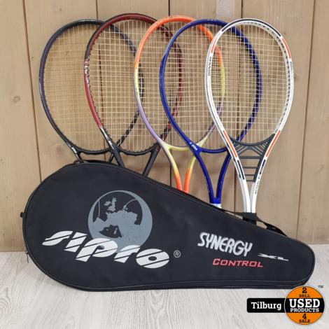 Diverse Luxe tennisrackets || Incl garantie