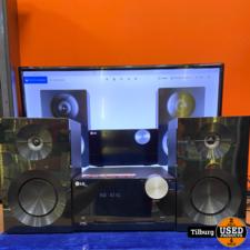 LG micro hi-fi system cm2440 + afst.bed. || Incl Garantie