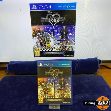 Ps4 Kingdom Hearts 1.5 + 2.5 Remix    incl garantie