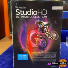 Pinnacle Studio HD ultimate Collection Met Hollywood fx  en Creative Pack in Doos
