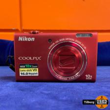 Nikon Coolpix S6200 met Lader || incl Garantie