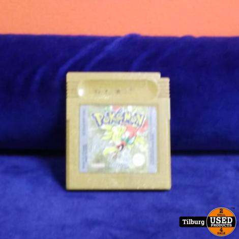Pokemon Gold Gameboy Color    Incl. garantie