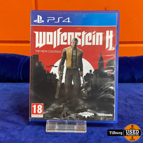 Sony Playstation 4 spel Wolfenstein 2    incl Garantie