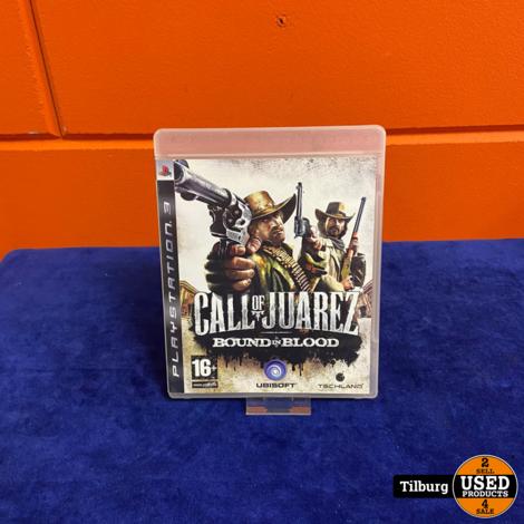 PS3 Call of Juarez Bound in Blood || incl Garantie