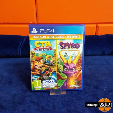 Sony Ps4 Crash Team Racing & Spyro Game Bundle || inclu Garantie