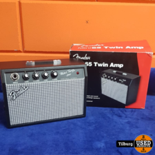 Fender Mini 65 Twin Amp in Doos met Factuur  || Incl. Garantie