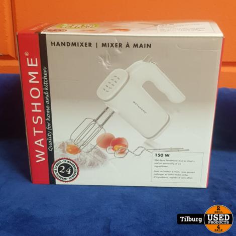 Watshome Handmixer in Doos || Incl. garantie
