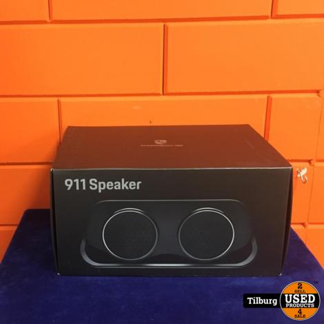 Porsche 911 uitlaat bluetooth speaker met oplader in orginele doos Incl. garantie