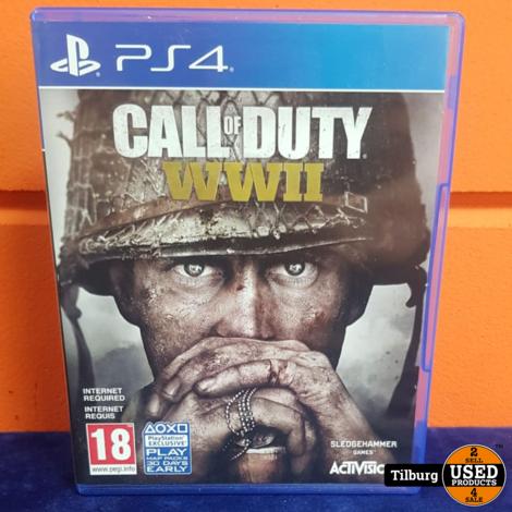 Ps4 Call of Duty World War 2 || Incl. garantie