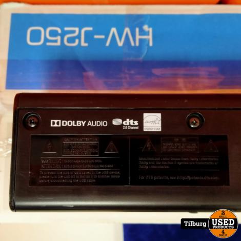 Samsung HW-J250 Soundbar in doos || Incl. garantie
