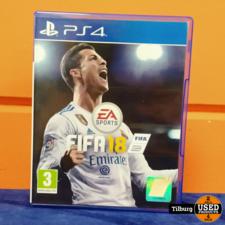 PS4 spel Fifa 18 || Incl. garantie