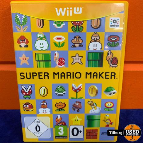 WIIU Super Mario maker