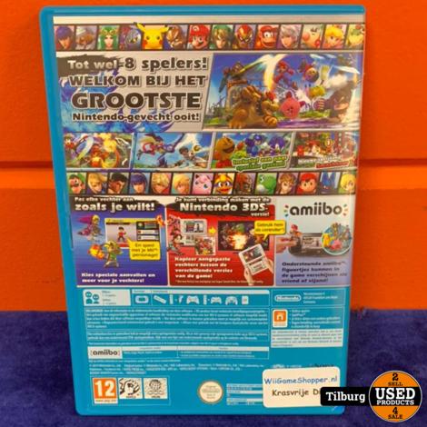 WIIU Super Mario Smash Bros