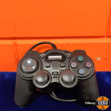 Sony Playstation 2 Fat + Memorycard + Konig controller + kabels
