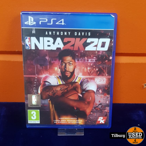 PS4 NBA 2K20 || Incl. garantie