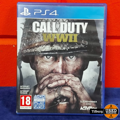 Playstation 4 Call of Duty WWII || Incl. garantie