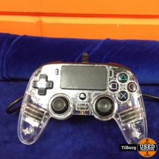 Clear PS4 Controller (Bedraad)