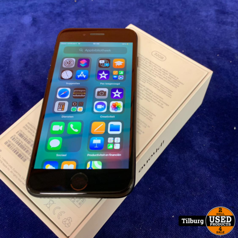 iPhone 7 32 GB + Doos en lader