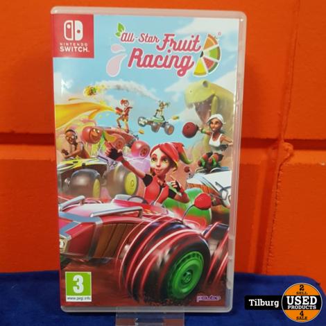 Nintendo Switch All Star Fruit Racing || Incl. garantie