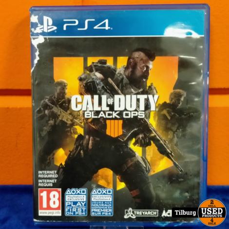 Playstation 4 Call of Duty: Black Ops 4 || Incl. garantie