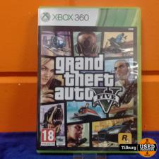 Xbox 360 Grand thef auto v    Incl. garantie