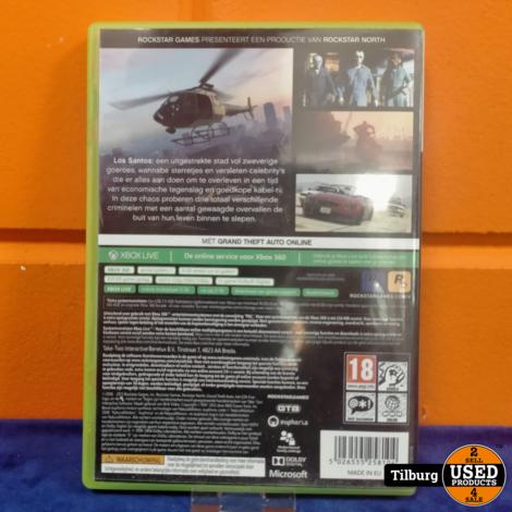 Xbox 360 Grand thef auto v || Incl. garantie