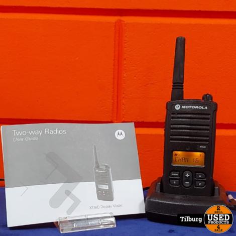 Motorola xtnid Display model set van 2 zgan in doos || Incl. garantie