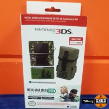 Nintendo 3DS Metal Gear Solid Snake Eater Accessory    geen garantie