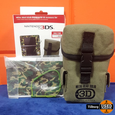 3DS Metal Gear Solid Snake Eater Accessory    geen garantie