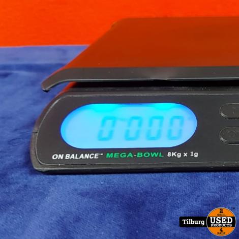 Mega-8 Weegschaal in doos
