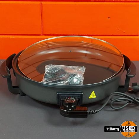 Emerio Electrische pan, ongebruikt in doos